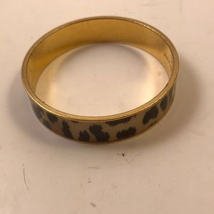 Kate Spade cheetah print bracelet